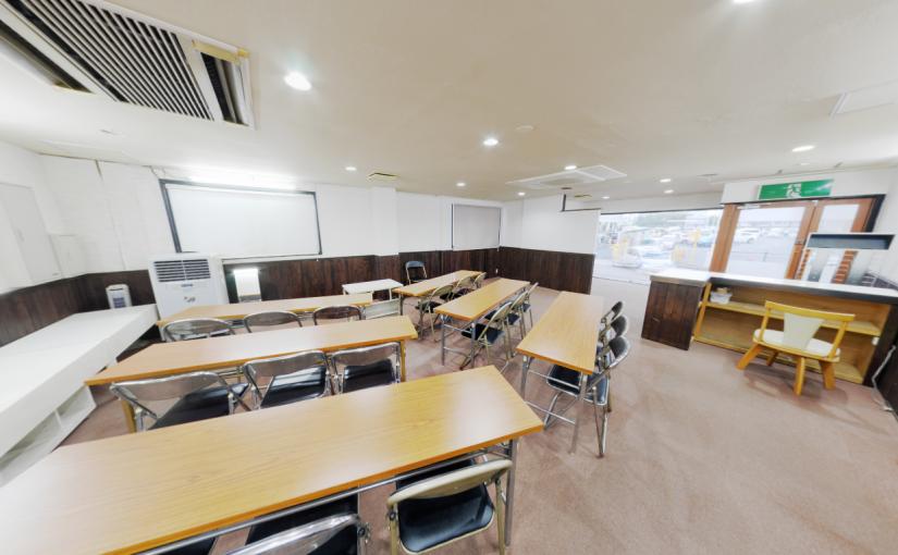 水戸市内にセミナールームを開設ました。(みと地域ITセンター)